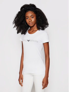 Emporio Armani Underwear Emporio Armani Underwear Тишърт 163139 1P227 00010 Бял Regular Fit