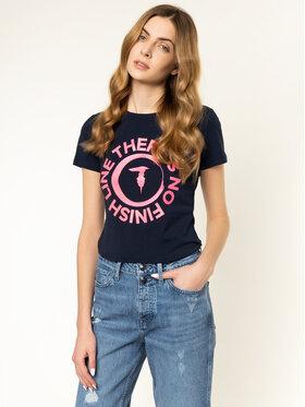 Trussardi Jeans Trussardi Jeans T-shirt 56T00245 Blu scuro Slim Fit