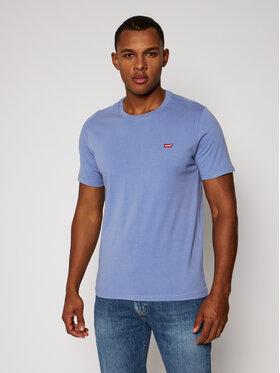 Levi's® Levi's® T-Shirt Original Hm 56605-0053 Modrá Regular Fit