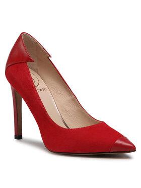 Baldowski Baldowski Scarpe stiletto D03288-1451-006 Rosso