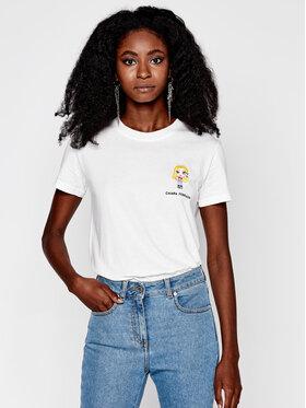 Chiara Ferragni Chiara Ferragni T-shirt CFT102 Beige Regular Fit