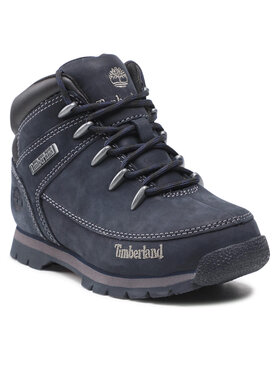 Timberland Timberland Turistická obuv Euro Sprint Mid Hiker TB0A12944841 Tmavomodrá