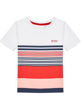 Boss Boss T-Shirt J25L10 S Barevná Slim Fit