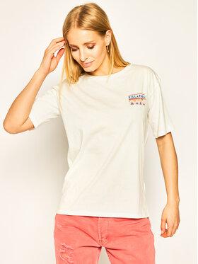 Billabong Billabong T-Shirt They Are Coming S3SS10 BIP0 Biały Regular Fit