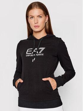 EA7 Emporio Armani EA7 Emporio Armani Sweatshirt 8NTM36 TJCQZ 1200 Schwarz Regular Fit