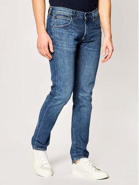 Lee Lee Slim Fit Jeans Luke L719FCJQ Dunkelblau Slim Tapered Fit