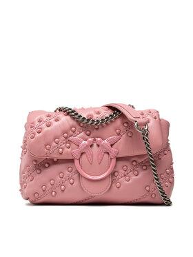 Pinko Pinko Torebka Love Mini Puff Soft Studs Cl. AL 21-22 PLTT 1P22BA Y7FP Różowy