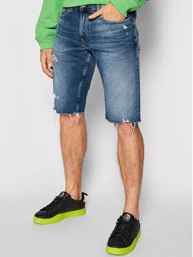 Tommy Jeans Tommy Jeans Džínové šortky Ronnie DM0DM11660 Modrá Relaxed Fit