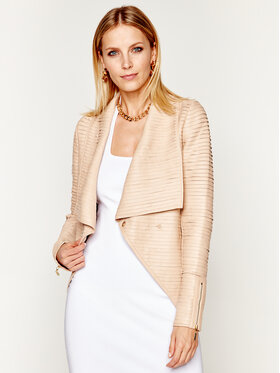 Marciano Guess Marciano Guess Giacca di pelle Labm Gloving 0GG290 7167Z Beige Regular Fit