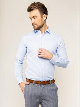 Strellson Strellson Košile Sereno 30018821 Modrá Slim Fit