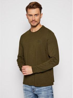 Guess Guess Marškinėliai ilgomis rankovėmis M0BI67 K8HM0 Žalia Regular Fit