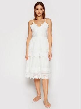 Marella Marella Sukienka codzienna Pelago 32210312 Biały Regular Fit