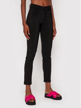Desigual Desigual Kalhoty z materiálu Coruna 21WWPW11 Černá Slim Fit