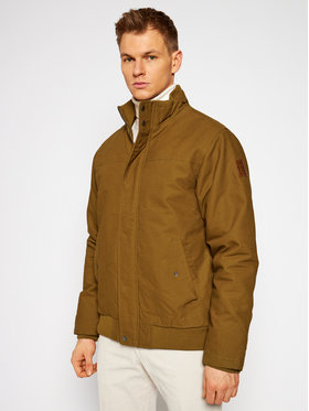 Quiksilver Quiksilver Bomber bunda Brooks Fuff Zip EQYJK03431 Hnedá Regular Fit
