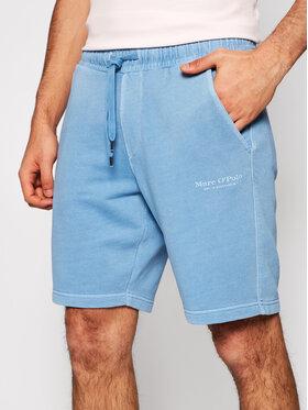Marc O'Polo Marc O'Polo Pantaloni scurți sport 123 4100 17012 Albastru Regular Fit