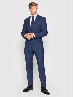 Boss Boss Kostiumas Huge6/Genius5 50450509 Tamsiai mėlyna Slim Fit