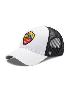 47 Brand 47 Brand Шапка с козирка As Roma Branson ITFL-BRANS01CTP-WH Бял