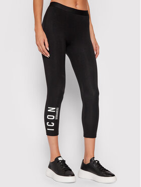 Dsquared2 Underwear Dsquared2 Underwear Legginsy Icon D8N473660 Czarny Slim Fit
