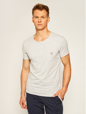 Guess Guess T-Shirt U97M00 JR003 Γκρι Regular Fit