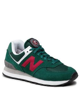 New Balance New Balance Sneakersy WL574HF2 Zielony