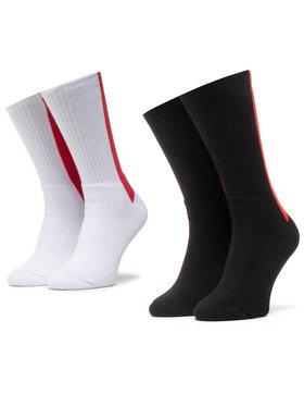 PROSTO. PROSTO. Sada 2 párů pánských vysokých ponožek 9103 Bílá