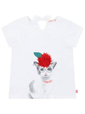 Billieblush Billieblush T-shirt U15728 Blanc Regular Fit