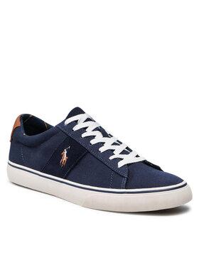 Polo Ralph Lauren Polo Ralph Lauren Sneakers aus Stoff Sayer 816845072004 Dunkelblau