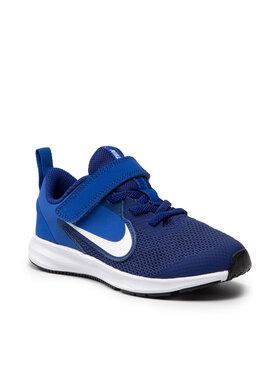 Nike Nike Boty Downshifter 9 (Psv) AR4138 001 Tmavomodrá