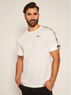 NIKE NIKE T-Shirt Sportswear CZ7829 Bílá Standard Fit
