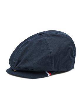 Tommy Hilfiger Tommy Hilfiger Flat cap Herringbone Flat Cap AM0AM07666 Blu scuro