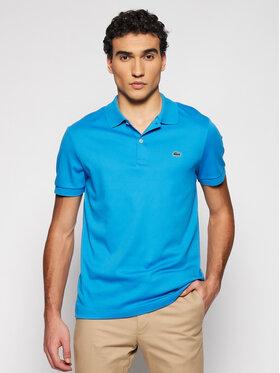 Lacoste Lacoste Polo marškinėliai DH2050 Mėlyna Regular Fit