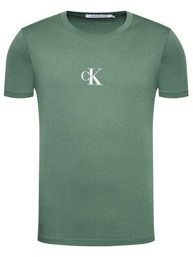 Calvin Klein Jeans Calvin Klein Jeans T-shirt J30J314267 Vert Regular Fit