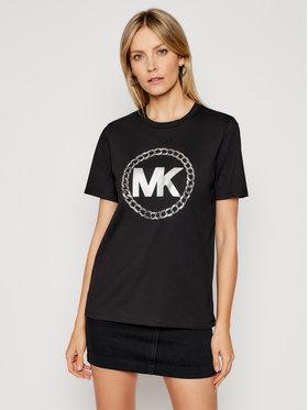 MICHAEL Michael Kors MICHAEL Michael Kors Póló MH05MVP97J Fekete Regular Fit