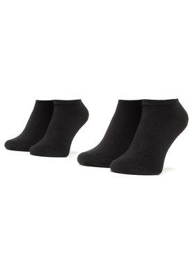 Tommy Hilfiger Tommy Hilfiger Комплект 2 чифта къси чорапи унисекс 301390 Черен