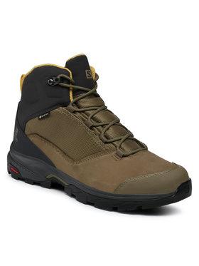 Salomon Salomon Παπούτσια πεζοπορίας Outward Gtx GORE-TEX 409584 27 V0 Πράσινο