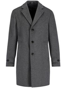 JOOP! Joop! Вълнено палто 30016779 Сив Regular Fit