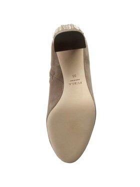 Furla Členková obuv Lara 841130 S Y893 SBO Béžová