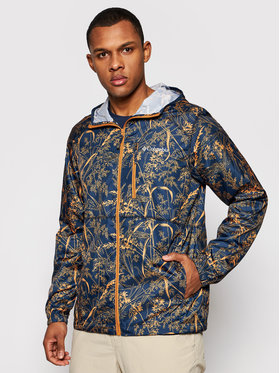 Columbia Columbia Prechodná bunda Flash Forward Windbreaker Print 1606803 Tmavomodrá Regular Fit