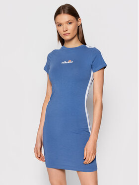 Ellesse Ellesse Φόρεμα καθημερινό Rigi SGK08448 Μπλε Slim Fit