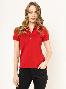 Polo Ralph Lauren Polo Ralph Lauren Polokošile Julie 211505654113 Červená Slim Fit