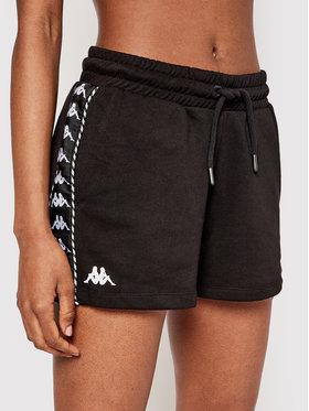 Kappa Kappa Sportske kratke hlače Irisha 309076 Crna Regular Fit
