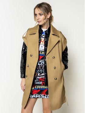 Pinko Pinko Kabát pro přechodné období Sandwich PE 20 BLK01 1G14P4 Y63B Loose Fit