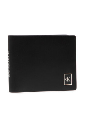 Calvin Klein Jeans Calvin Klein Jeans Nagyméretű férfi pénztárca Billfold W/Coin K50K506965 Fekete