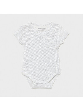 Mayoral Mayoral Body bébé 1789 Blanc Regular Fit