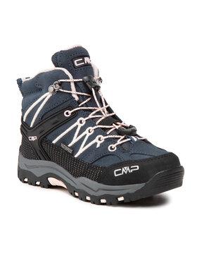 CMP CMP Trekkingi Kids Rigel Mid Trekking Shoe Wp 3Q12944 Granatowy