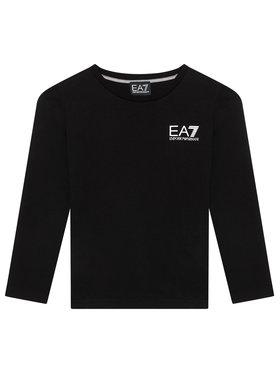 EA7 Emporio Armani EA7 Emporio Armani Блуза 6KBT52 BJ02Z 1200 Черен Regular Fit