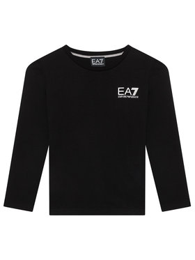 EA7 Emporio Armani EA7 Emporio Armani Bluză 6KBT52 BJ02Z 1200 Negru Regular Fit