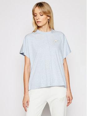 Nike Nike Marškinėliai Earth Day CZ8355 Mėlyna Oversize