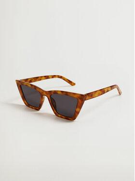 Mango Mango Okulary przeciwsłoneczne Santorin 17042016 Brązowy