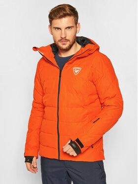 Rossignol Rossignol Kurtka narciarska Rapide RLIMJ16 Pomarańczowy Regular Fit
